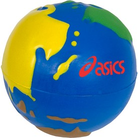 Customized Multicolor Earth Stress Ball