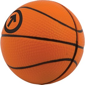 Promotional Basketball Stress Reliever Stressballs