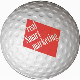 Promotional Golf Ball Stress Reliever Stressballs