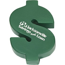 Customized Dollar Sign Stress Reliever Stressballs