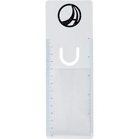 Promotional Bookmarker Ruler Magnifier With Clip