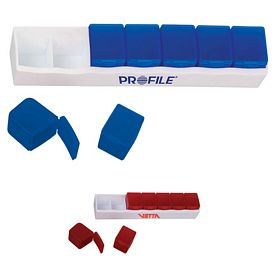 Promotional Removeable Weekly Pill Box