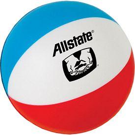 Promotional Beach Ball Stress Ball
