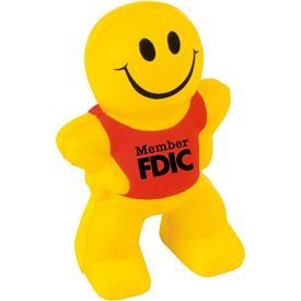 Promotional Happy Smile Stress Reliever