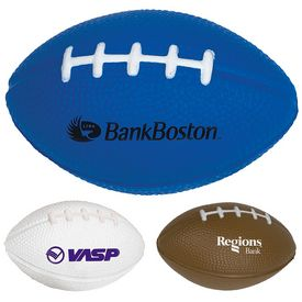 Promotional Small Football Stress Reliever Stressballs