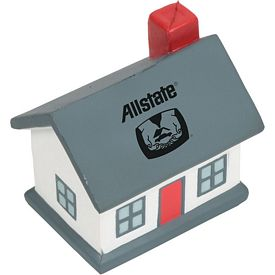 Promotional Cottage House Stress Reliever