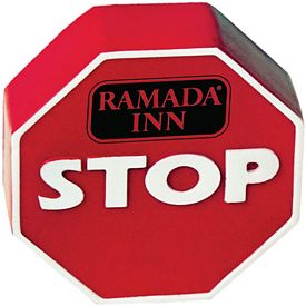 Promotional Stop Sign Stress Reliever Stressballs