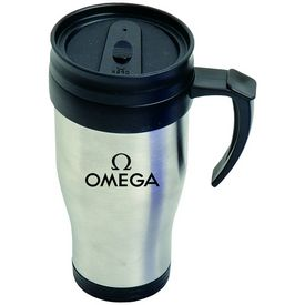 Promotional 16 oz. Stainless Steel Tumbler with Handle