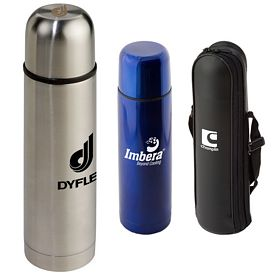 Customized 169 Oz Stainless Steel Thermo Bottle With Case