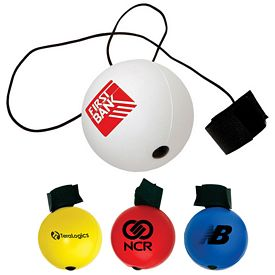 Promotional Round Bounce Back Stress Reliever