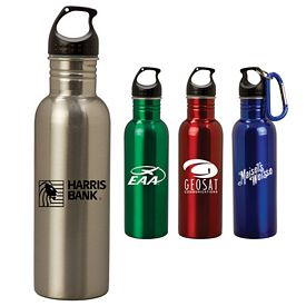 Custom 24 Oz Twist Lid Aluminum Bottle