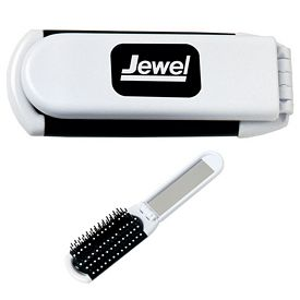 Promotional Hairbrush with Mirror