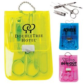 Custom 5-Piece Manicure Kit In Translucent Case