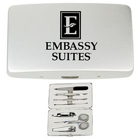 Promotional Deluxe Manicure Set in a Travel Case
