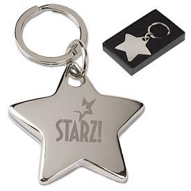 Promotional Star Key Tag