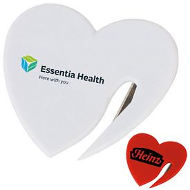 Customized Heart Marketing Letter Opener