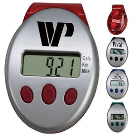 Promotional Clip-On Calorie Tracker Pedometer