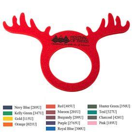 Promotional Foam Reindeer Visor