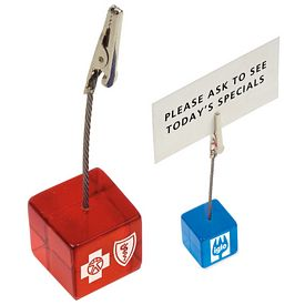 Promotional Cube Clip Memo Holder