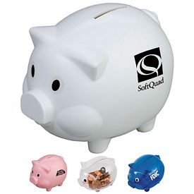 Customized Piggy Shaped Bank