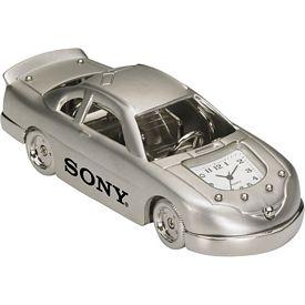 Promotional Die Cast Race Car Clock