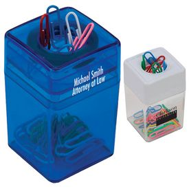 Promotional Desktop Paper Clip Dispenser