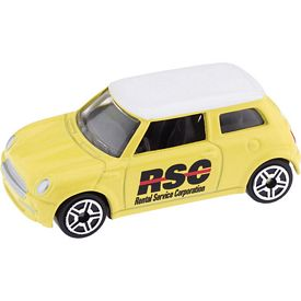 Promotional Yellow Desk Display Mini Cooper