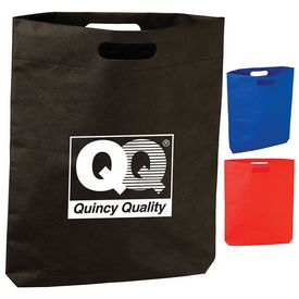 Customized Diecut Handle Tote Bag