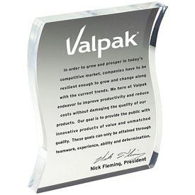 Promotional Letter Shaped Acrylic Award