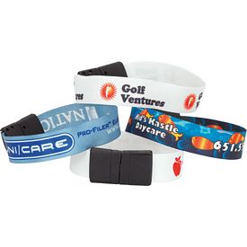 Customized Sublimated Recycled Event Wristband