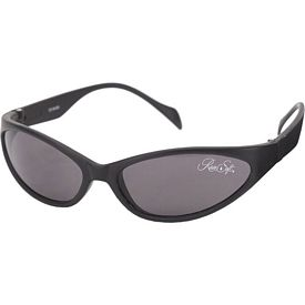 Promotional Snake Wrap Black Nylon Sunglasses