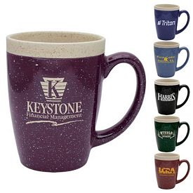 Customized 16 oz Adobe Ceramic Mug - Promotional Ceramic Mugs