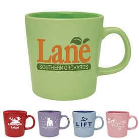 Promotional 16 oz. Ceramic Mellow Mug