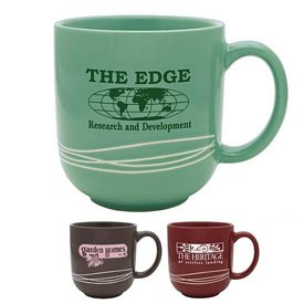 Promotional 17 oz. Linear Cafe Mug