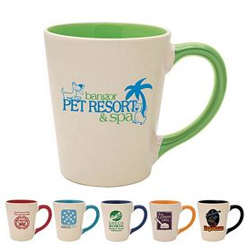 Customized 12 oz. Sahara Cafe Mug