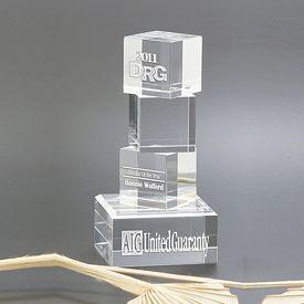 Promotional Progress Crystal Award