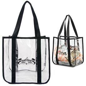 Promotional Clear PVC Event Tote Bag