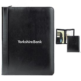 Promotional Writer's Zippered Ringfolio