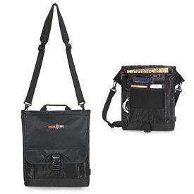 Promotional Tribute Polyester Tablet Messenger Bag