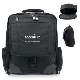 Promotional Momentum Polyester Computer Messenger Bag
