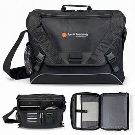 Promotional Vertex Zippered Computer Messenger Bag II