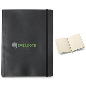 Promotional Moleskine Soft Cover Ruled Extra Large Notebook