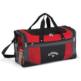 Promotional Large Flex Polyester Sport Bag