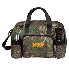Promotional Apex Camo Polyester Sport Bag