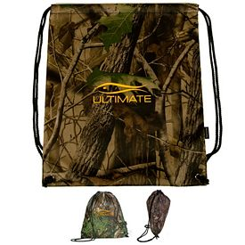 Promotional Big Buck Polyester Cinchpack