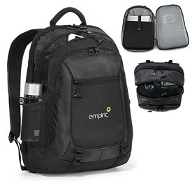 Promotional Life in Motion Alloy Polyester Computer Backpack