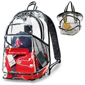 Promotional Clear PVC Event Backpack
