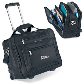 Promotional Travis & Wells Wheeled Ballistic Computer Brief