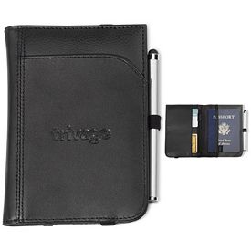 Promotional Gateway Leather Passport Wallet