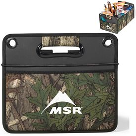 Promotional Life in Motion Large Polyester Camo Cargo Box